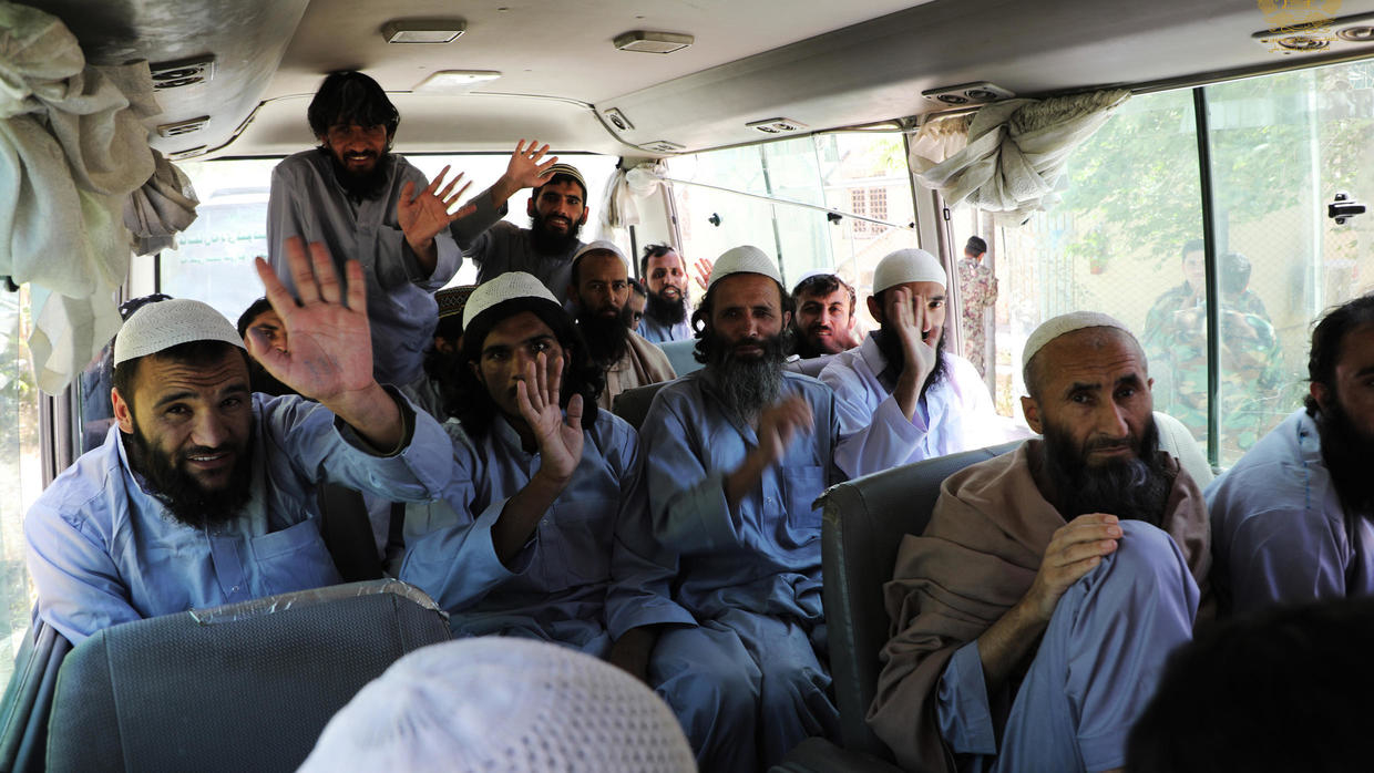 Photo of Afghanistan frees first group of Taliban prisoners in response to ceasefire