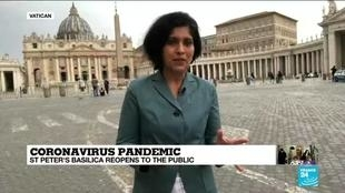Photo of Saint Peter's reopens to Vatican visitors as Italy pursues reopening