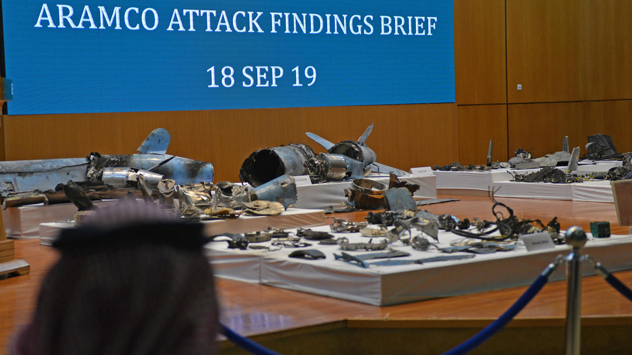 Photo of Weapons used against Saudi Arabia were of Iranian origin, UN says