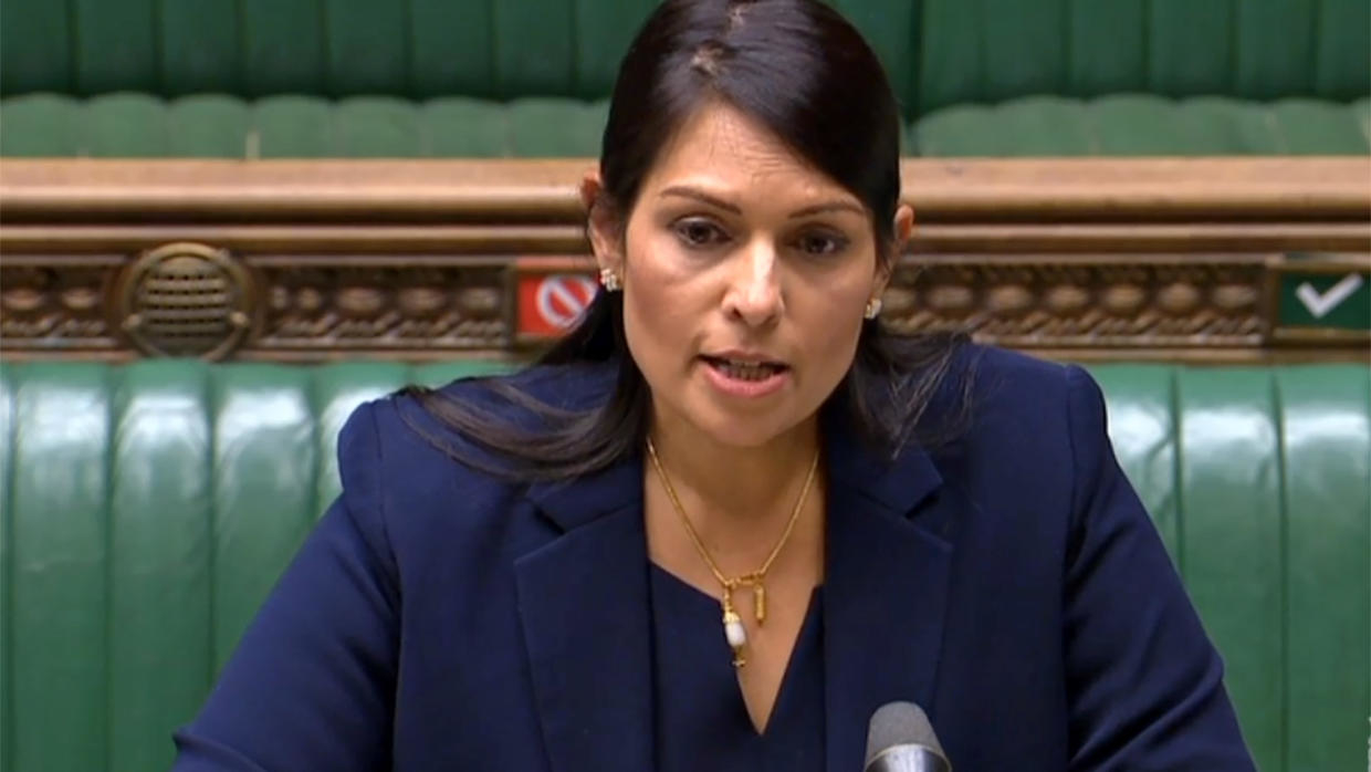 Photo of 'Violent minority' in anti-racist protests must be brought to justice, says UK's Priti Patel