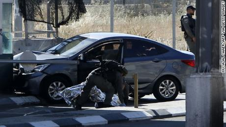 Photo of Video of Palestinian man being shot after suspected attack at checkpoint sparks controversy
