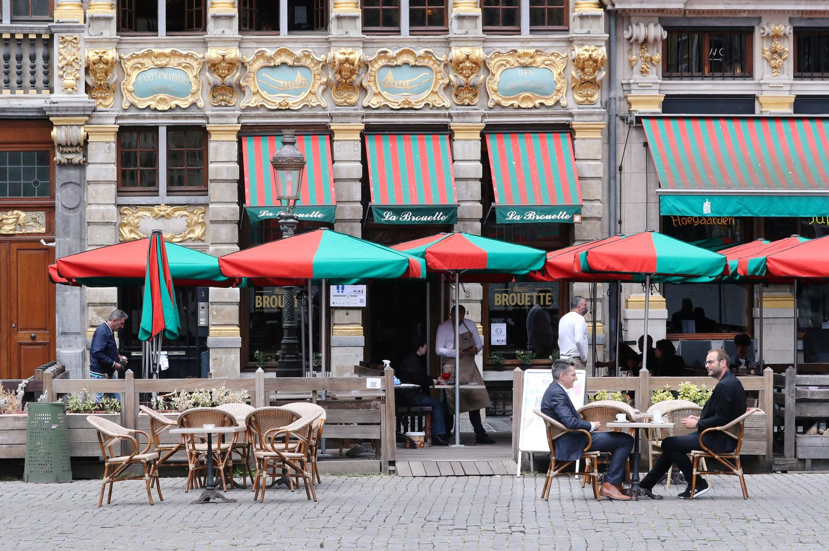 Photo of Brussels restaurants and bars count the cost of a long lockdown as they reopen