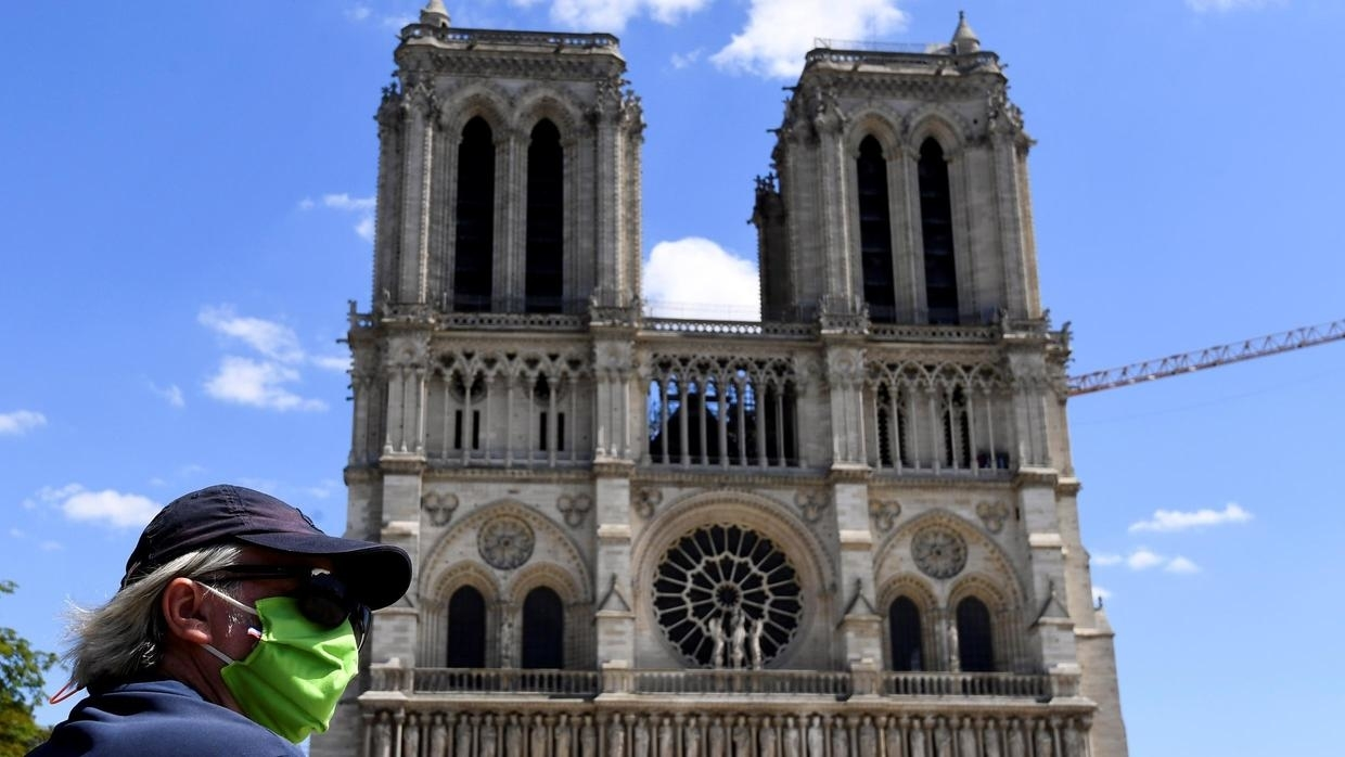 Photo of Notre-Dame Cathedral renovations play catch-up as lockdown eases, square reopens
