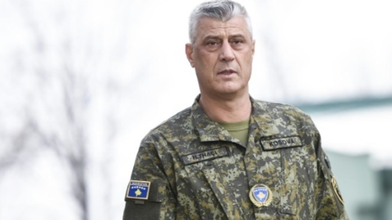 Photo of Kosovo President Hashim Thaci indicted for war crimes