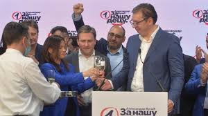 Photo of Serbian Ruling Party Scores Landslide Victory in General Elections