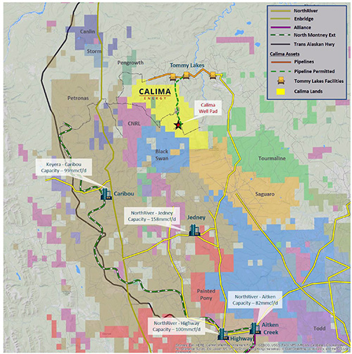 Photo of Calima Energy explores options for Montney gas asset as it looks to re-use Tommy Lakes infrastructure