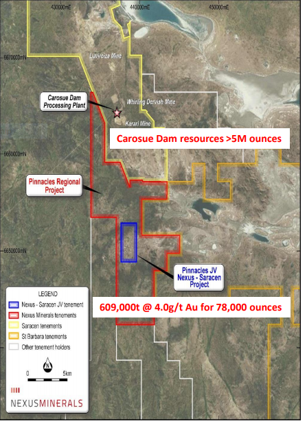 Photo of Nexus Minerals highlights potential for near-term cash flow from Pinnacles gold JV