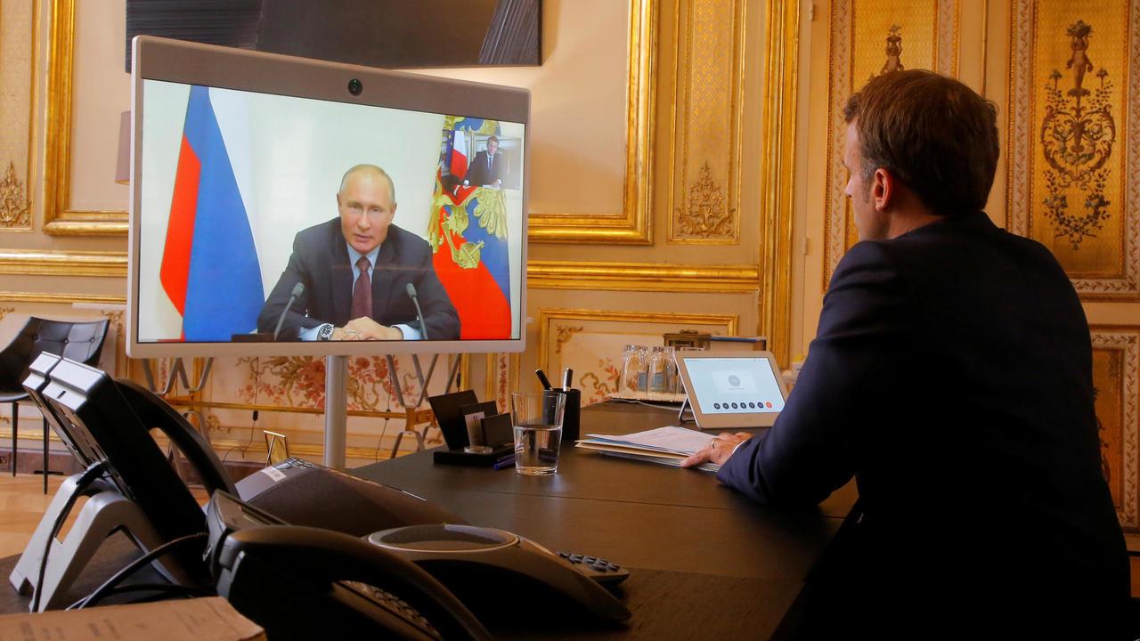 Photo of Macron 'confident' of progress in Russia ties after Libya talks with Putin