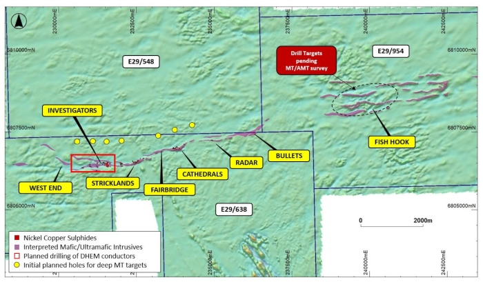 Photo of St George Mining steps-up Mt Alexander drilling after identifying large nickel-copper sulphide target