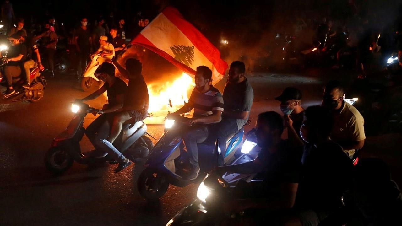 Photo of Tanking Lebanese pound sparks mass protests