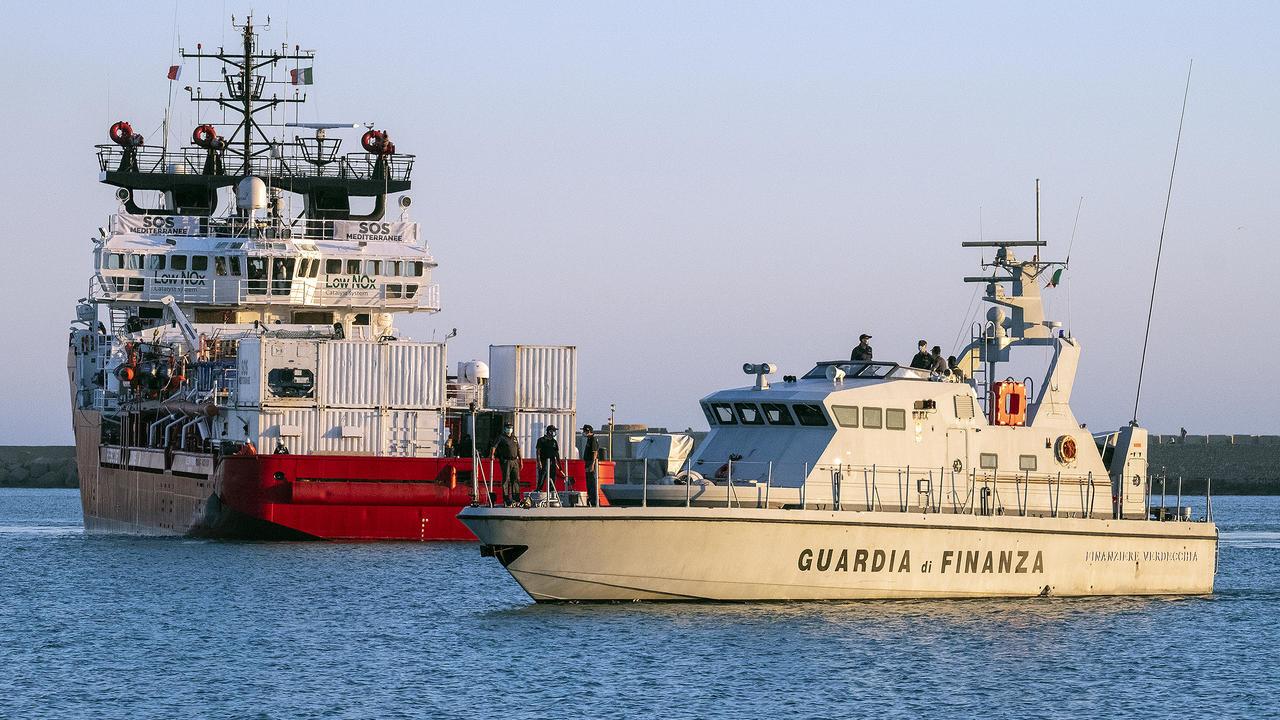 Photo of Migrant rescue ship Ocean Viking detained by Italy's coastguard
