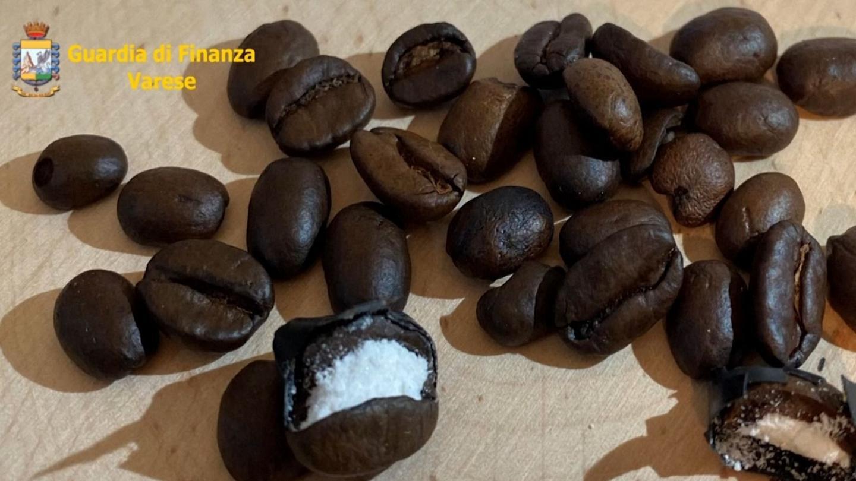 Photo of Italian police intercept coffee beans stuffed with cocaine