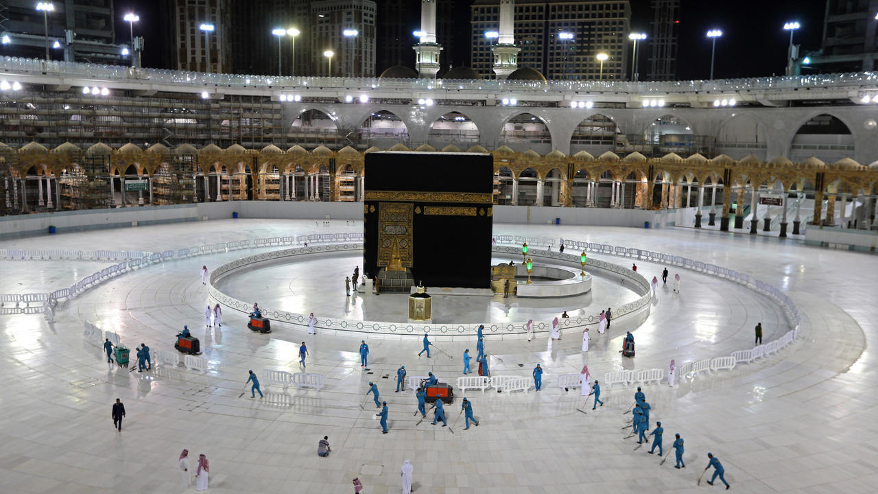 Photo of Hajj, drastically scaled down to include some 1,000 pilgrims, to begin July 29