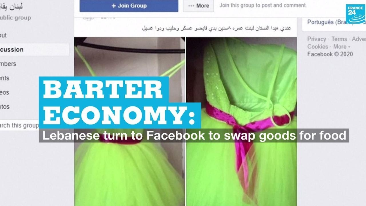 Photo of Barter economy: Lebanese turn to Facebook to swap goods for food