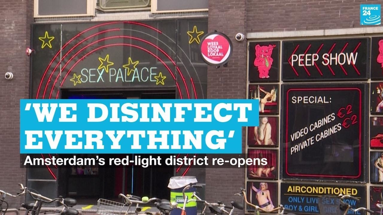 Photo of We disinfect everything: Amsterdams red-light district re-opens