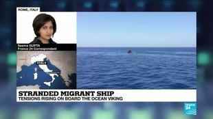 Photo of Italy could transfer migrants from Ocean Viking rescue ship on Monday