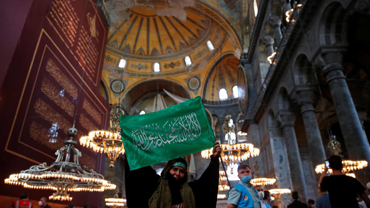 Photo of Greece, Turkey argue over controversial move to make Hagia Sophia a mosque