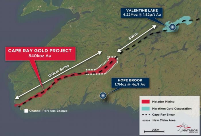 Photo of Matador Mining aims to maximise value of Cape Ray Gold Project