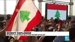 Photo of Beirut pauses to remember the dead one week after catastrophic explosion