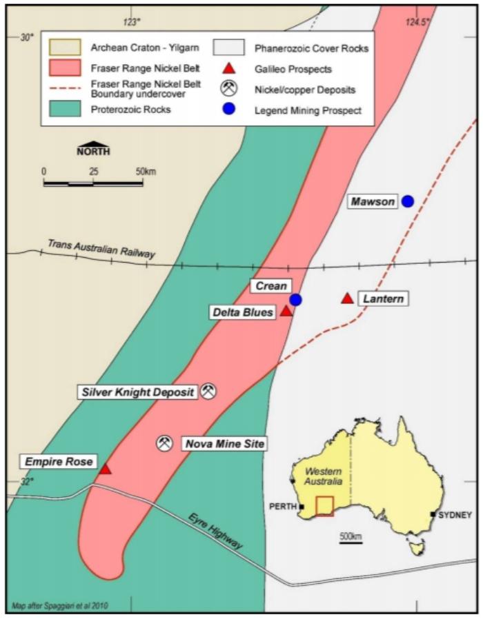 Photo of Galileo Mining begins diamond drilling at three Fraser Range nickel targets