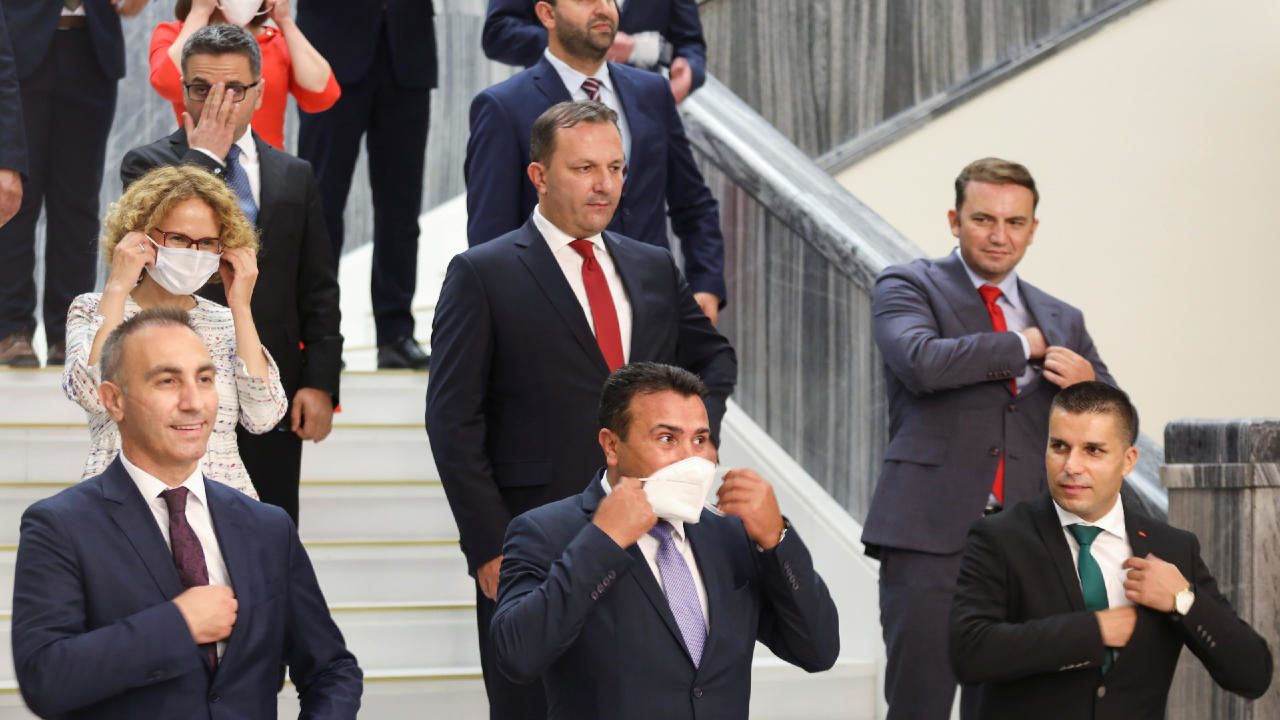 Photo of North Macedonia's parliament approves new left-wing coalition government