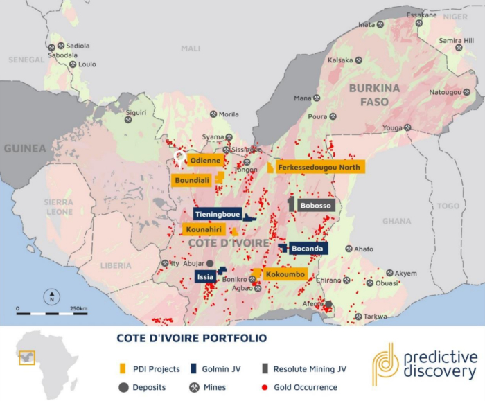 Photo of Predictive Discovery enters new gold exploration joint venture in Cote dIvoire