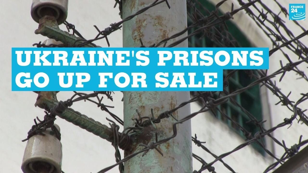 Photo of Ukraines prisons go up for sale
