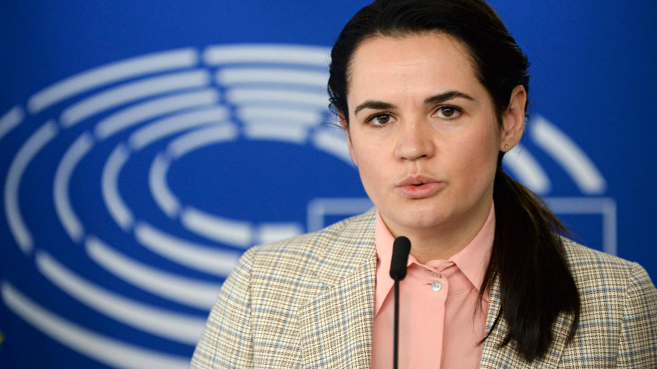 Photo of Belarus opposition urges Brussels to 'be more brave' on sanctions