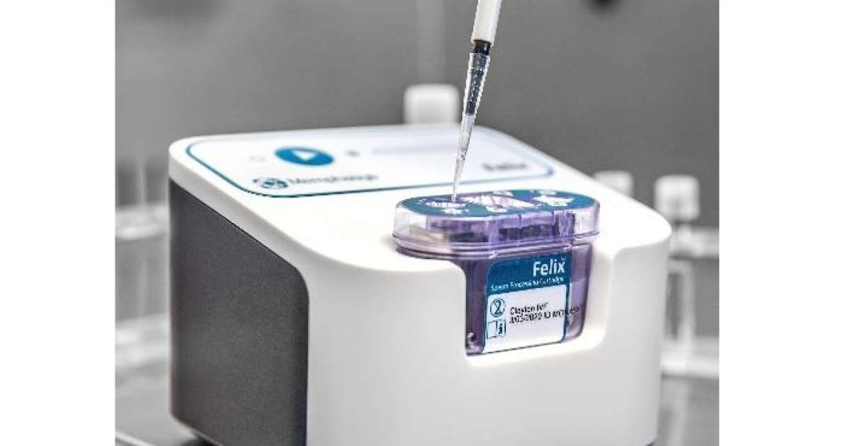 Photo of Hydrix and Memphasys' device for separating high-quality sperm from semen for IVF gets award
