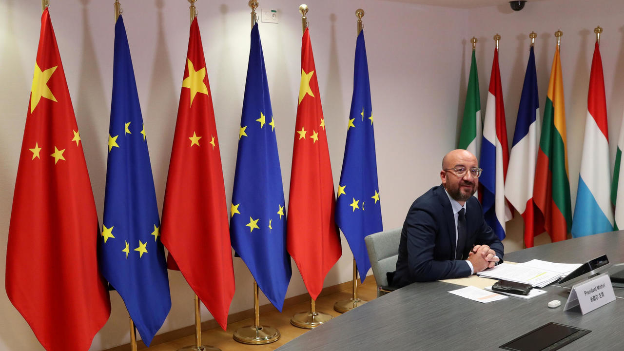 Photo of EU leaders to hold trade talks with China despite rifts over human rights