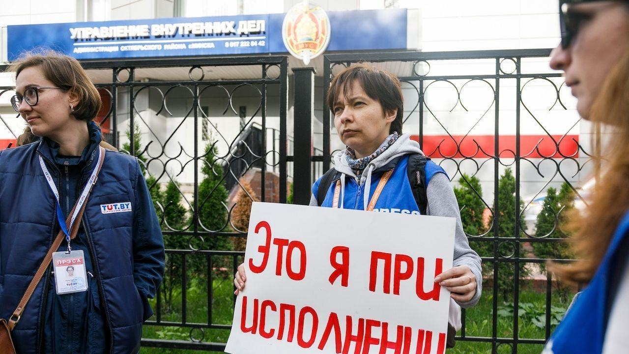 Photo of Belarus journalists face charges for covering protests against PM Lukashenko