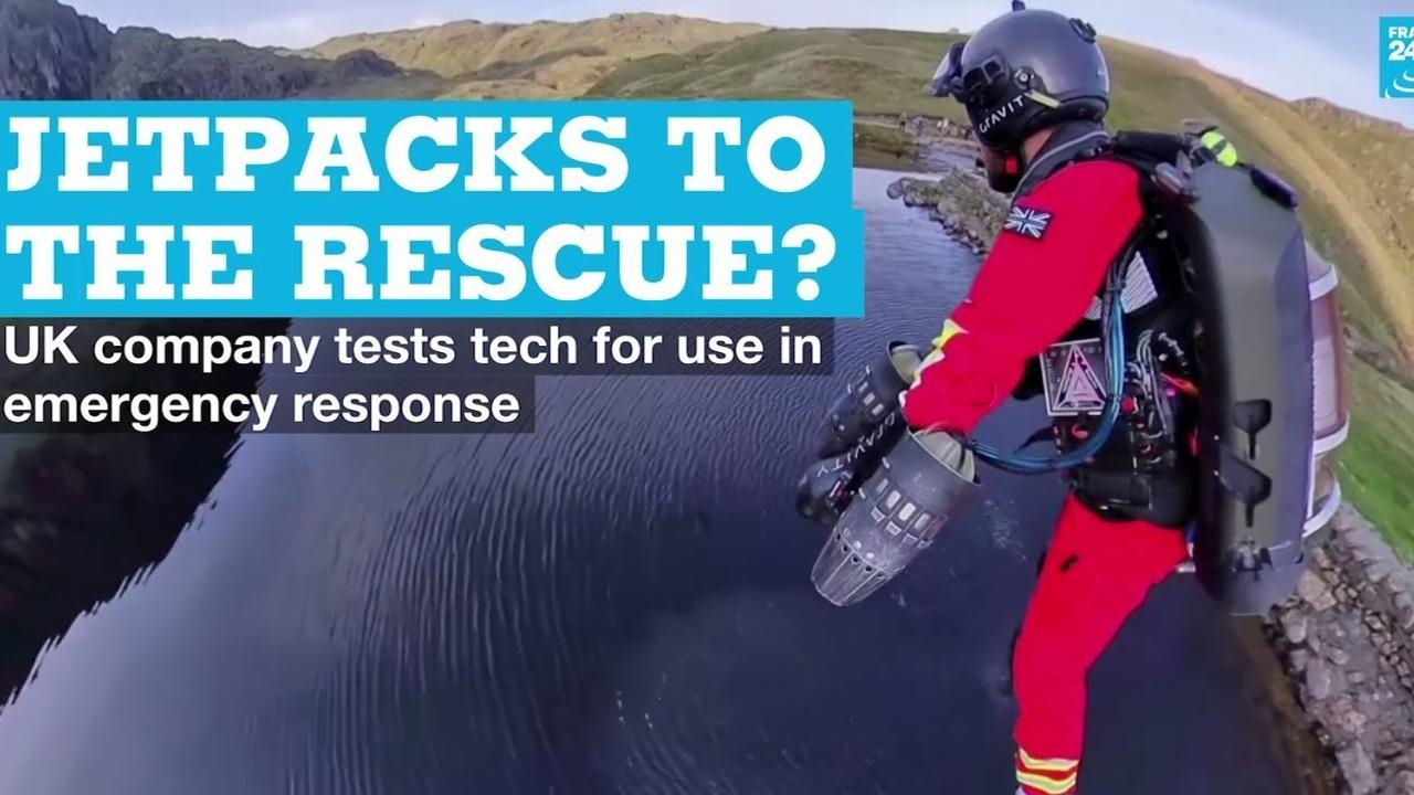 Photo of Jetpacks to the rescue? UK company tests tech for use in emergency response