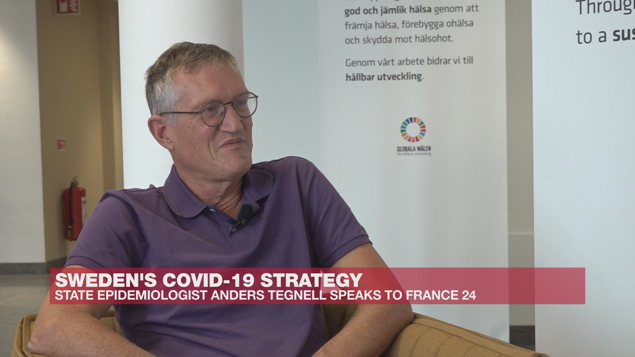 Photo of Sweden's chief epidemiologist: 'We are happy with our strategy' on Covid-19