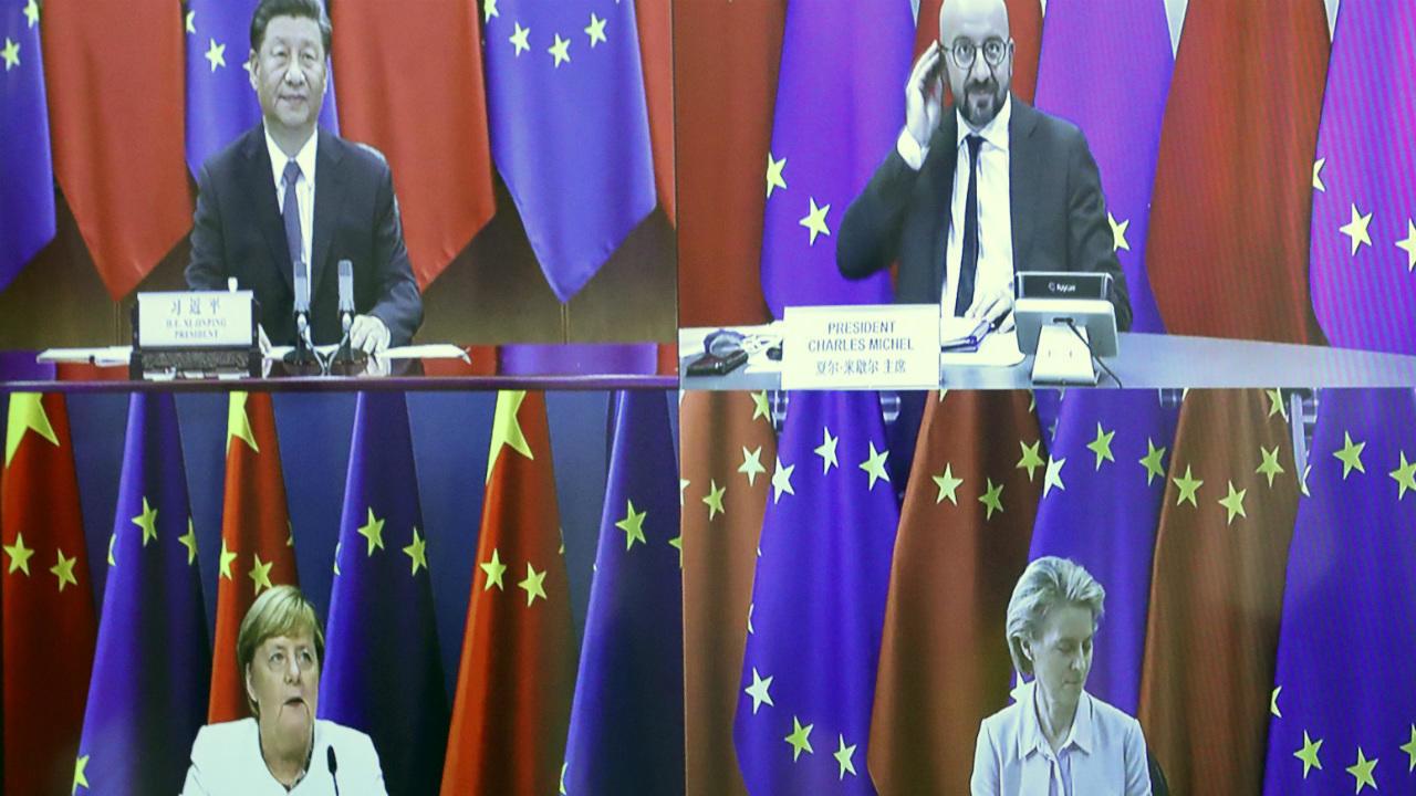 Photo of EU presses China on market access, human rights during virtual summit