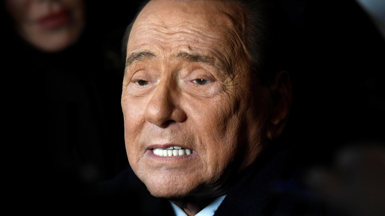 Photo of Italy's former PM Berlusconi in hospital after testing positive for coronavirus