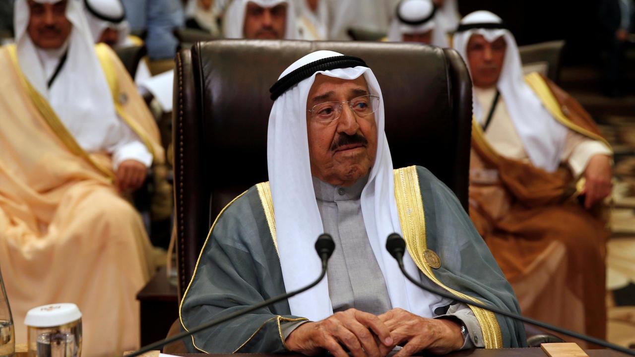 Photo of Kuwaits Emir Sheikh Sabah, who championed Arab unity, dies at age 91