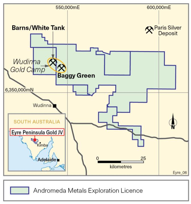 Photo of Andromeda Metals joint venture partner begins extensive drilling program at Wudinna Gold Project