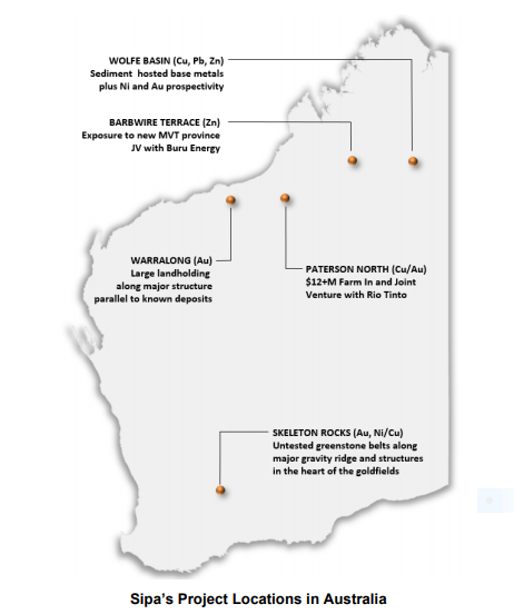Photo of Sipa Resources makes progress on several fronts at WA gold, copper-gold and base metals projects