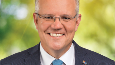 Photo of Prime Minister Scott Morrison spoke to 60 Minutes reporter Tom Steinfort while he was locked up in the Lodge
