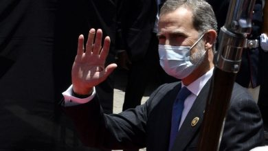 Photo of Covid: King Felipe of Spain in quarantine after contact