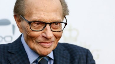 Photo of Larry King , US talk show host, dies aged 87