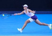 Photo of Ash Barty charges into Australian Open quarter-finals, beating Shelby Rogers in straight sets