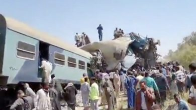 Photo of Dozens killed after two trains collide in Egypt