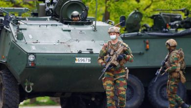 Photo of Belgian army combs forest in search for heavily armed soldier who disappeared this week