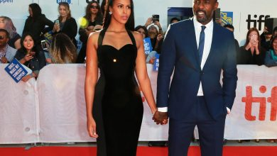 Photo of Christian Louboutin, Sabrina Elba, and Idris Elba Reinvented Red-Bottoms for a Cause