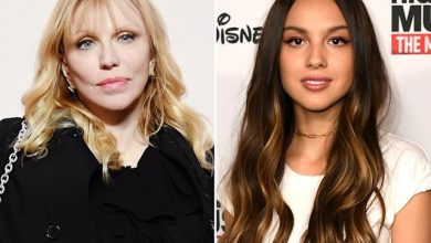 Photo of Courtney Love accuses Olivia Rodrigo of copying her album cover