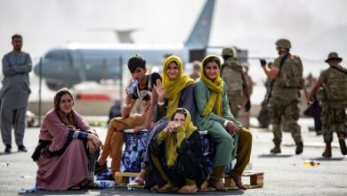 Photo of Afghan woman gives birth on board US plane during evacuation